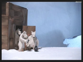 3 ours et 1 frigo vide | Nicolas Bianco-Levrin